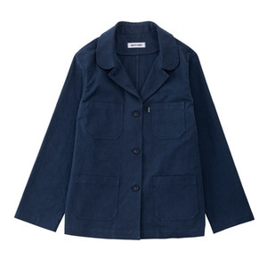 SS19 COTTON WORK JACKET (navy)