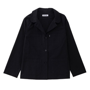SS19 COTTON WORK JACKET (black)