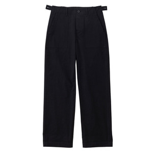SS19 COTTON FATIGUE PANTS (black)