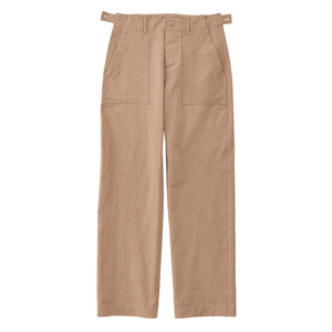 SS19 COTTON FATIGUE PANTS (beige)