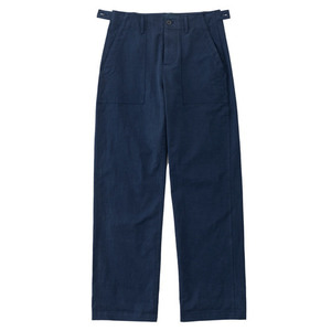 SS19 COTTON FATIGUE PANTS (navy)