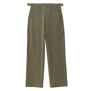 SS19 COTTON FATIGUE PANTS (khaki)